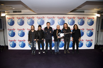 Pino Sagliocco Mana attends Rock in Rio Press Conference 2012