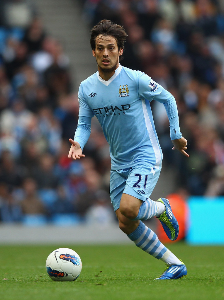 David Silva Photos Manchester City V