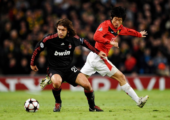 Ji-Sung Park Pictures - Manchester United v AC Milan - UEFAac milan vs man utd 2010 highlight