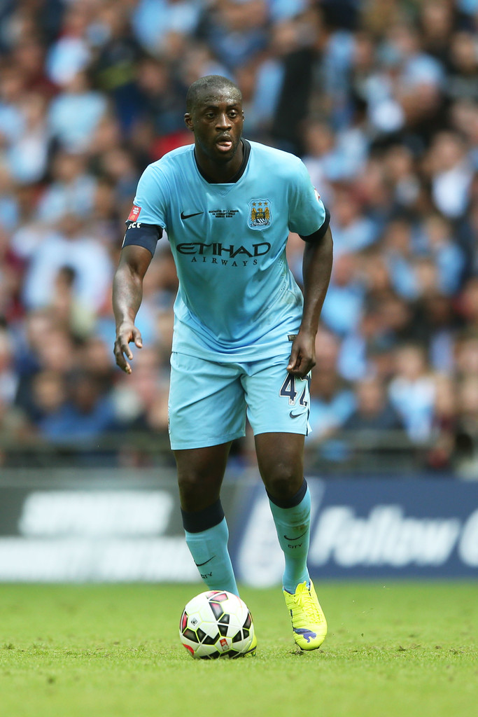 Yaya Toure in Manchest...