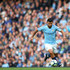 Sergio Aguero Photos - Sergio Aguero of Manchester City runs with the ball during the Premier League match between Manchester City and Burnley FC at Etihad Stadium on October 20, 2018 in Manchester, United Kingdom. - Manchester City v Burnley FC - Premier League