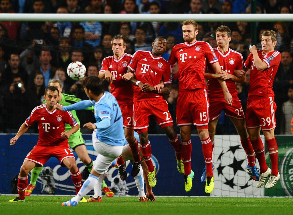 Man City Vs Bayern