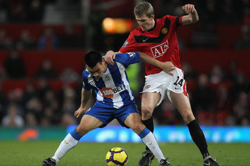 Won Hee Cho Manchester United v Wigan Athletic - Premier League