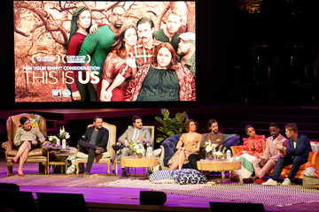 Mandy Moore Sterling K. Brown 20th Century Fox Television And NBC Present 'This Is Us' FYC Event