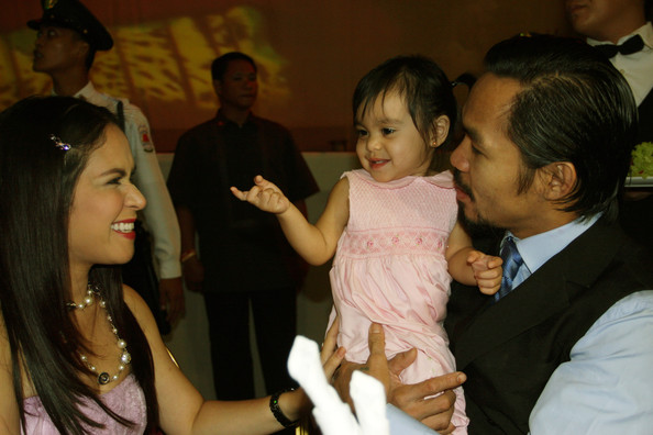 manny pacquiao wife. Manny Pacquiao Wins Seat In