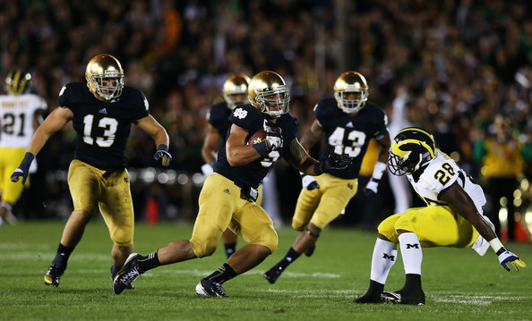 Image result for manti te'o notre dame michigan