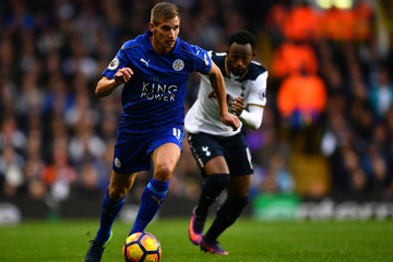 Marc Albrighton Tottenham Hotspur v Leicester City - Premier League