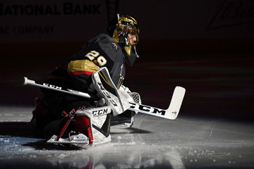 Marc-Andre Fleury Columbus Blue Jackets v Vegas Golden Knights