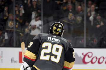 Marc-Andre Fleury Los Angeles Kings v Vegas Golden Knights - Game One