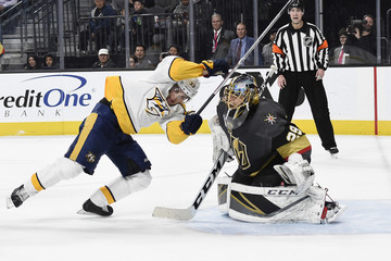 Marc-Andre Fleury Nashville Predators Vs. Vegas Golden Knights