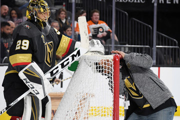 Marc-Andre Fleury Philadelphia Flyers v Vegas Golden Knights