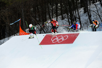 Marc Bischofberger Freestyle Skiing - Winter Olympics Day 12