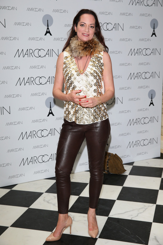 Natalia Woerner attends the Marc Cain Photocall during the Mercedes-Benz Fashion Week Spring/Summer 2014 at the Hotel Adlon on July 4, 2013 in Berlin, Germany.