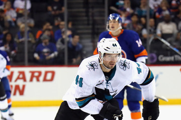 Marc-Edouard Vlasic San Jose Sharks vs. New York Islanders