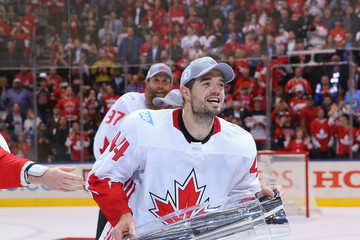 Marc-Edouard Vlasic World Cup of Hockey 2016 Final - Game Two - Canada v Europe