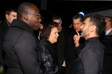 Stefano Tonchi Edward Enninful Marc Jacobs Collection- Backstage - Fall 2012