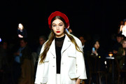 Gigi Hadid walks the runway at the Marc Jacobs Fall 2020 runway show during New York Fashion Week on February 12, 2020 in New York City.