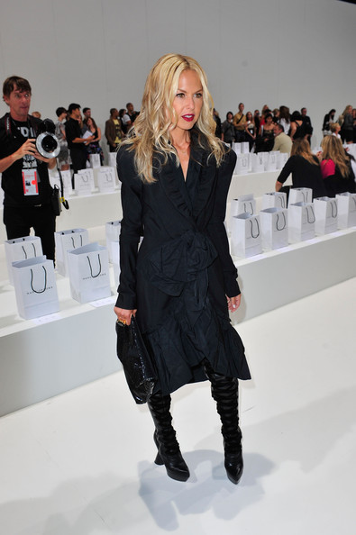 Rachel Zoe Stylist Rachel Zoe attends Marc Jacobs Spring 2010 fashion show at The Armory on September 14, 2009 in New York, New York.
