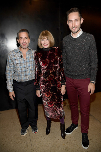 Anna Wintour Marc Jacobs Kevin Systrom Marc Jacobs And Kevin Systrom Photos Vogue S Forces Of Fashion Conference Zimbio