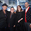Marc Metrick Glenda Bailey And Katie Holmes Host The Launch Of The Saks IT List Townhouse In Partnership With American Express And Harper's BAZAAR