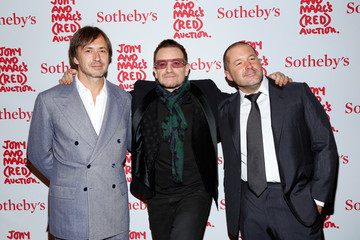 Marc Newson Arrivals at Jony and Marc's (RED) Auction