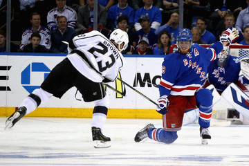Marc Staal Henrik Lundqvist NHL Stanley Cup Final: Game Three