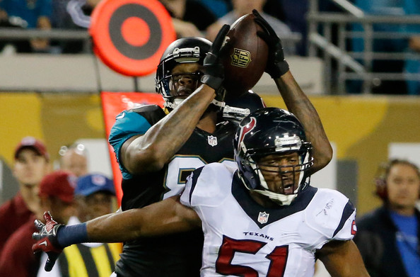 Marcedes Lewis In Jacksonville Jaguars V Houston Texans: Marcedes Lewis And Darryl Sharpton Photos Photos