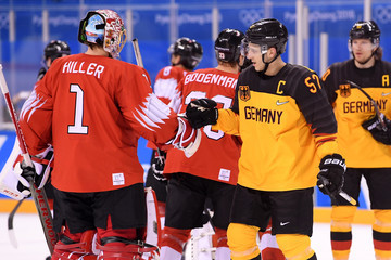 Marcel Goc Ice Hockey - Winter Olympics Day 11
