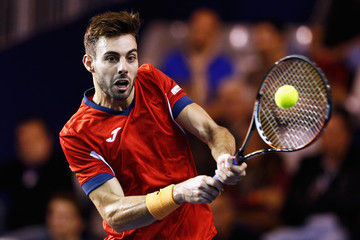 Marcel Granollers BNP Paribas Masters - Day One