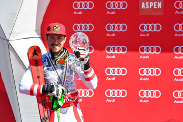 Marcel Hirscher Audi FIS Alpine Ski World Cup - Men's Slalom and Women's Giant Slalom