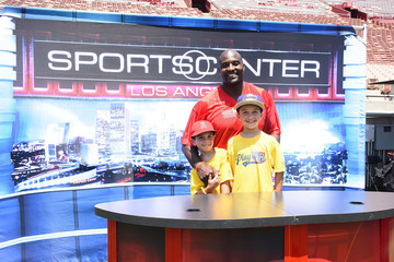 Marcellus Wiley Children's Hospital Los Angeles Hosts Inaugural Play LA Fundraiser At The LA Coliseum