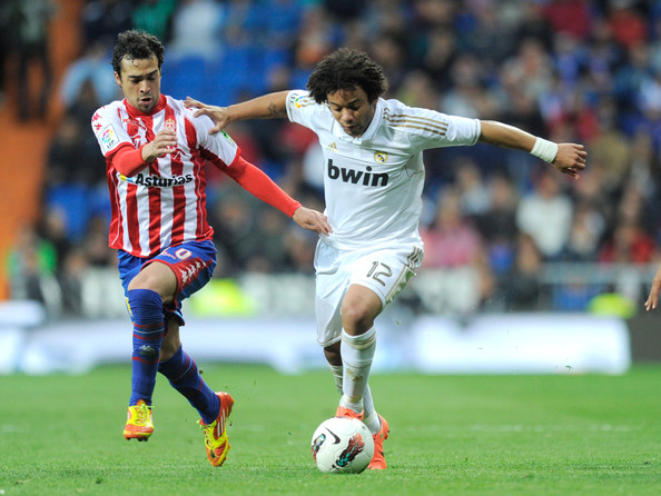 Marcelo Real Madrid Real Madrid cf v Real Sporting