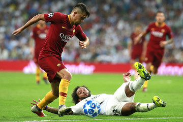 Marcelo Real Madrid  v AS Roma - UEFA Champions League Group G
