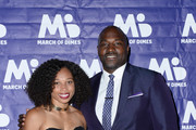 Allyson Felix and Marcellus Wiley attend March of Dimes Get S.E.T. Los Angeles at The Novo Theater at L.A. Live on June 27, 2019 in Los Angeles, California.