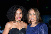 Allyson Felix and her mother Marlean Felix attend March of Dimes Get S.E.T. Los Angeles at The Novo Theater at L.A. Live on June 27, 2019 in Los Angeles, California.