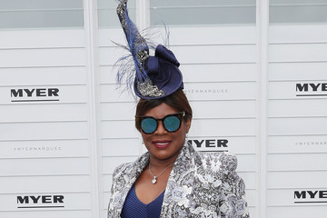 Marcia Hines Celebrities Attend Melbourne Cup Day