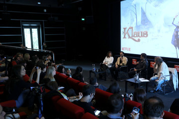 Marco Mengoni Netflix's Klaus Press Conference And Screening