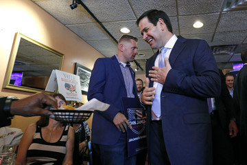 Marco Rubio Marco Rubio Campaigns With GOP Senate Candidate John James In Detroit