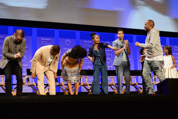 Marcus Scribner Marsai Martin The Paley Center for Media's 33rd Annual PaleyFest Los Angeles - 'Black-ish' - Inside