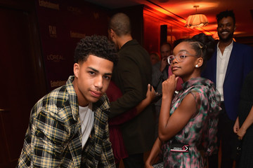 Marcus Scribner Marsai Martin Entertainment Weekly And L'Oreal Paris Hosts The 2018 Pre-Emmy Party - Inside