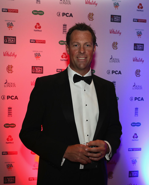 NatWest PCA Awards [suit,tuxedo,formal wear,event,premiere,tie,natwest pca awards,somerset,the roundhouse,london,england,marcus trescothick]