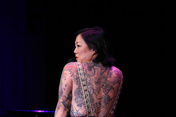 Margaret Cho David Lynch Foundation Hosts 'National Night of Laughter and Song' Event - Inside