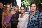 (From 2nd L)  Mia Moretti, Margherita Missoni, and Teresa Maccapani Missoni attend the debut of Margherita Missoni and Peroni Nastro Azzurro's Fall fashion collaboration during New York Fashion Week on September 8, 2015 in New York City.