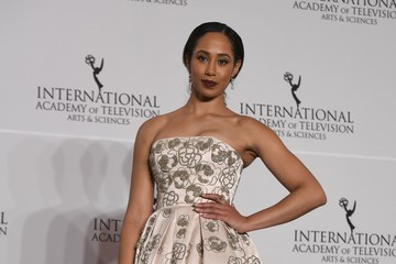 Margot Bingham 45th International Emmy Awards - Press Room