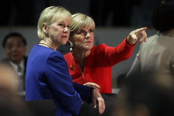 Margot Wallstrom World Leaders Participate in Policy Discussion at Nuclear Security Summit