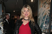Meredith Ostrom attends Margraves, the solo exhibition by RETNA at the Maddox Gallery on October 3, 2017 in London, England.