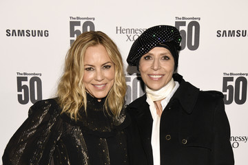 "Maria Bello ""The Bloomberg 50"" Celebration In New York City - Arrivals"
