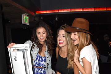 Maria Menounos Nina Dobrev Tommy Bahama Hosts Private Event at Hyde Staples Center for Taylor Swift Concert