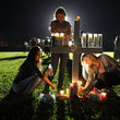 Maria Reyes Florida Town of Parkland in Mourning After Shooting at Marjory Stoneman Douglas High School Kills 17