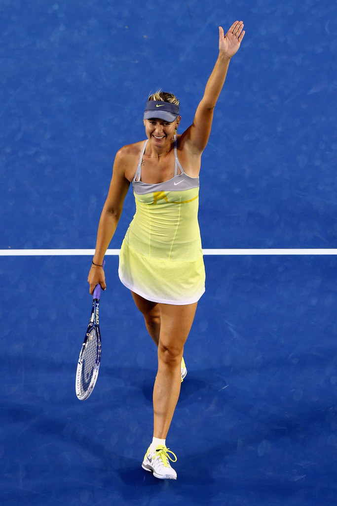 Li Na, Victoria Azarenka Win Semifinal Matches At 2013 ... |Maria Sharapova 2013 Australian Open